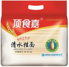 绵阳生产 古麦香  清水挂面  2kg*2袋